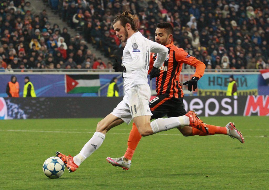 Der Waliser Gareth Bale bei Real Madrid mit der Nummer 11 auf seinem Trikot (Foto Shutterstock)