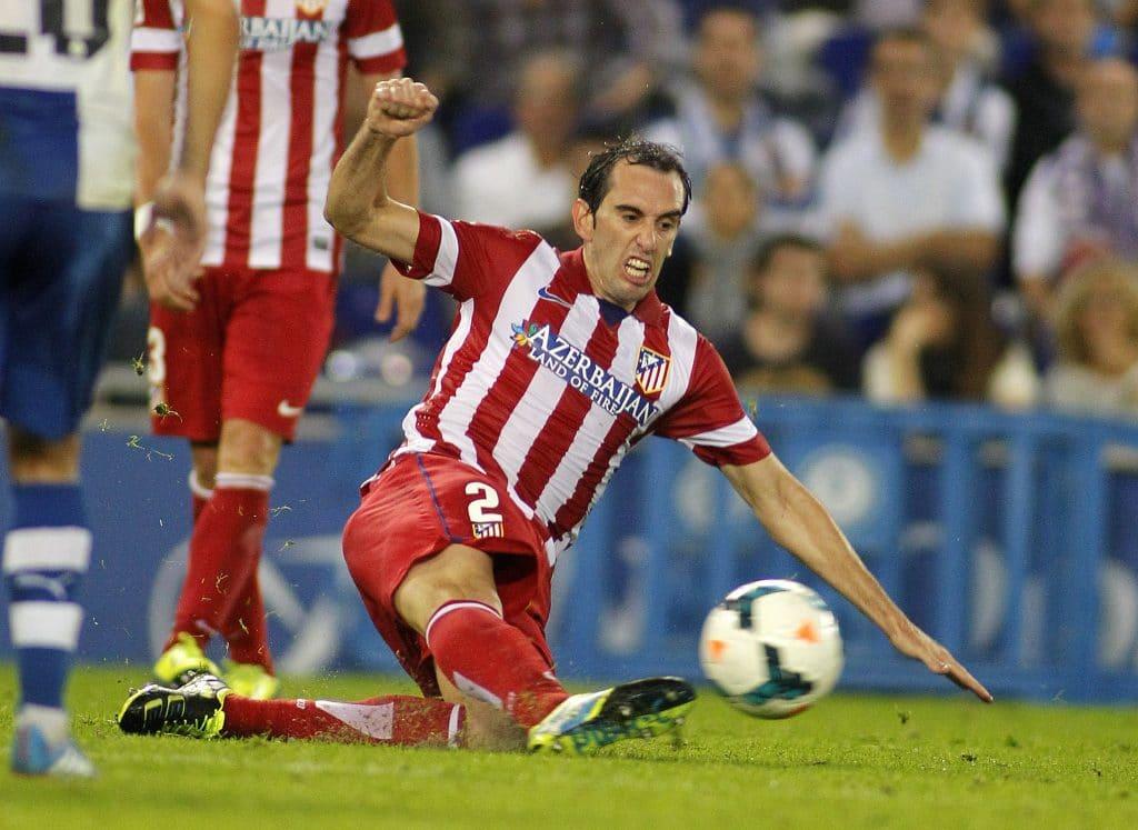 Diego Godin von Atletico Madrid (Foto Shutterstock)