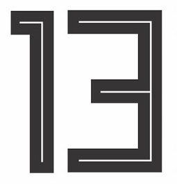 Rückennummer 13