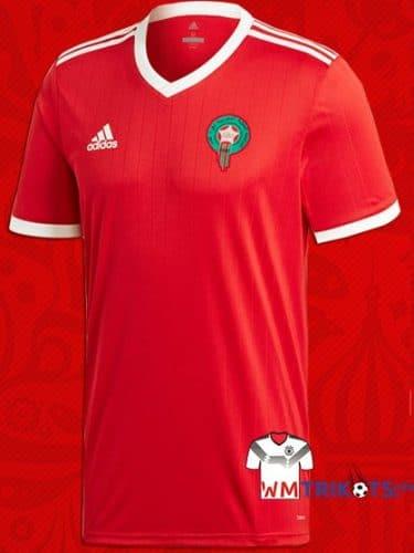 Das neue Marokko Awaytrikot 2018.