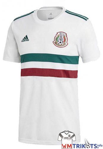 Das neue Mexiko Awaytrikot 2018 von adidas.