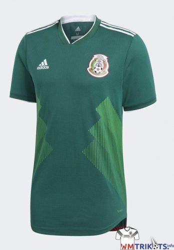 Das neue Mexiko Heimtrikot 2018 von adidas.