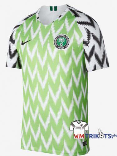 Das neue Nigeria Heimtrikot 2018 von nike.