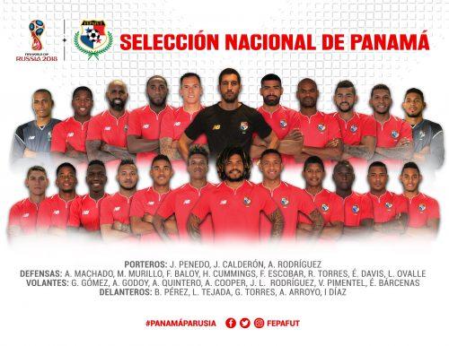 Der endgültige WM Kader von Panama 2018.
