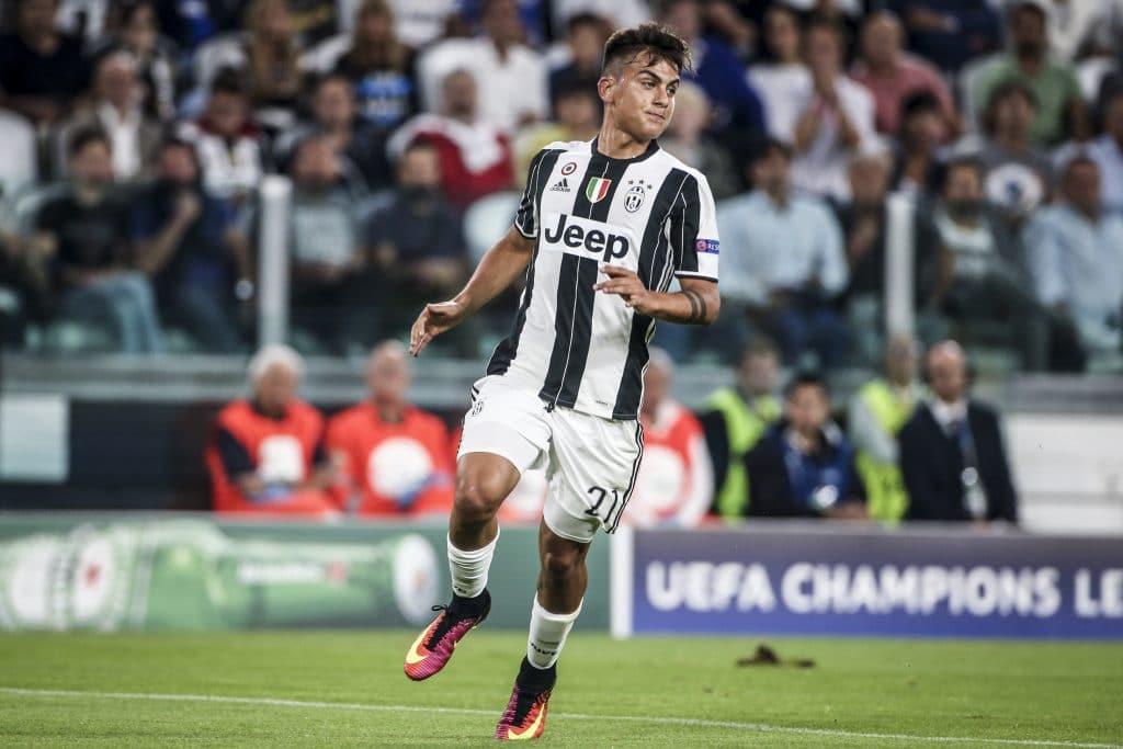 Paulo Dybala von Juventus Turin 2017 mit der Rückennummer 21 (Foto Shutterstock)