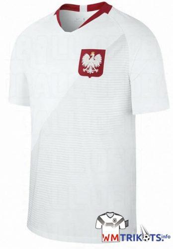 Das neue Polen Heimtrikot 2018 von nike.