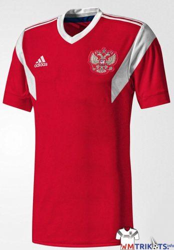 Das neue Russland Heimtrikot 2018 von adidas.