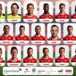 Rückennummern Schweiz WM 2018