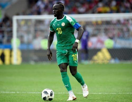 Senegals Superstar Sadio Mane gegen Polen am 1.Gruppenspieltag.  A.RICARDO / Shutterstock.com