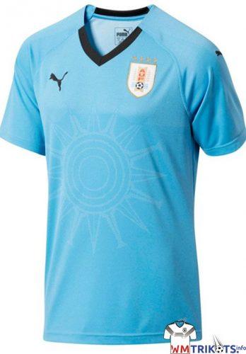 Das neue Uruguay Heimtrikot von Puma 2018.