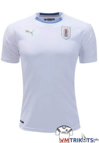 Das neue Uruguay Awaytrikot von Puma 2018.