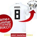 Rückennummern Deutschland WM 2018