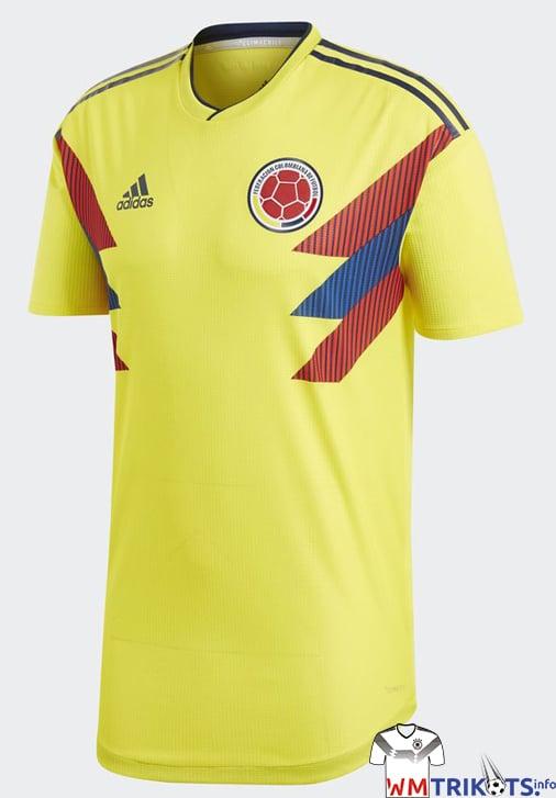 Das aktuelle Kolumbien WM Trikot 2018