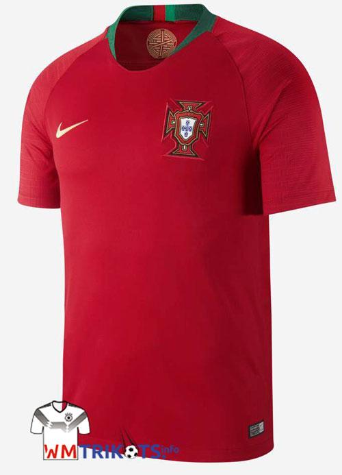 Das neue Portugal Trikot zur WM 2018 von nike.