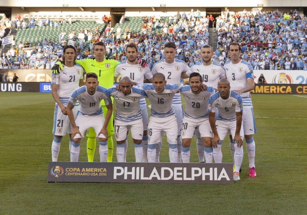 Team Uruguay im jahr 2016 (Foto shutterstock)