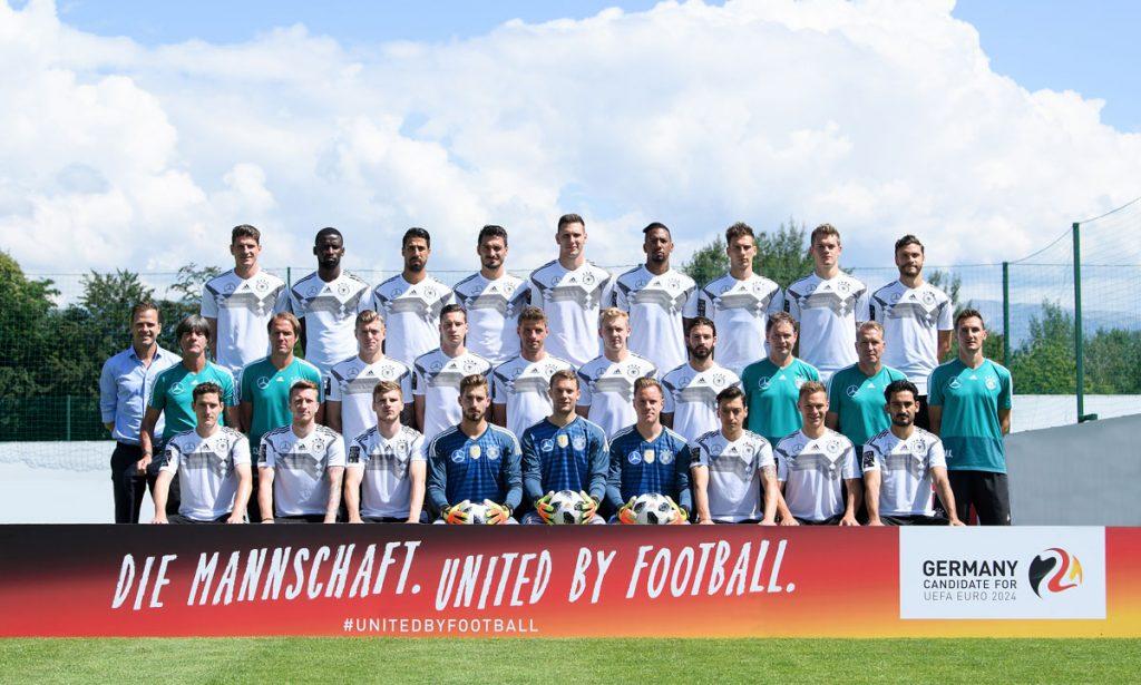 Der deutsche WM Kader 2018 (Foto DFB)