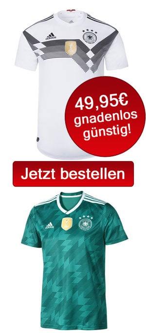 Das neue DFB Trikot mit Rückennummer kaufen
