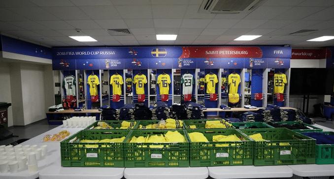 Rückennummern Schweden WM 2018