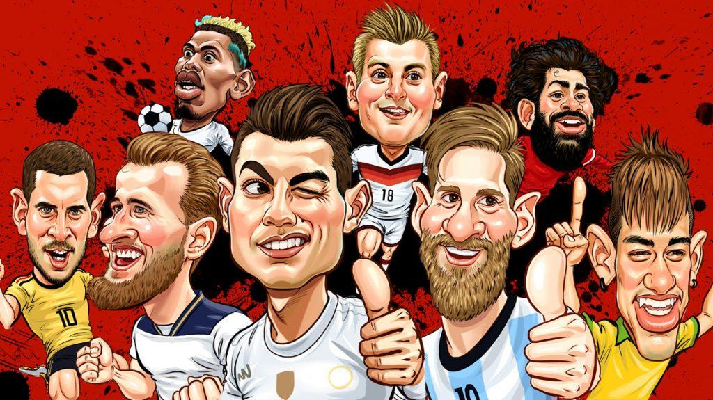 Rückennummern berühmter Fussballer - wir haben sie alle! ( Suchat Manthong / Shutterstock.com)