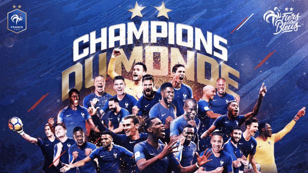 Frankreich wird zum zweiten Mal Fußball Weltmeister!