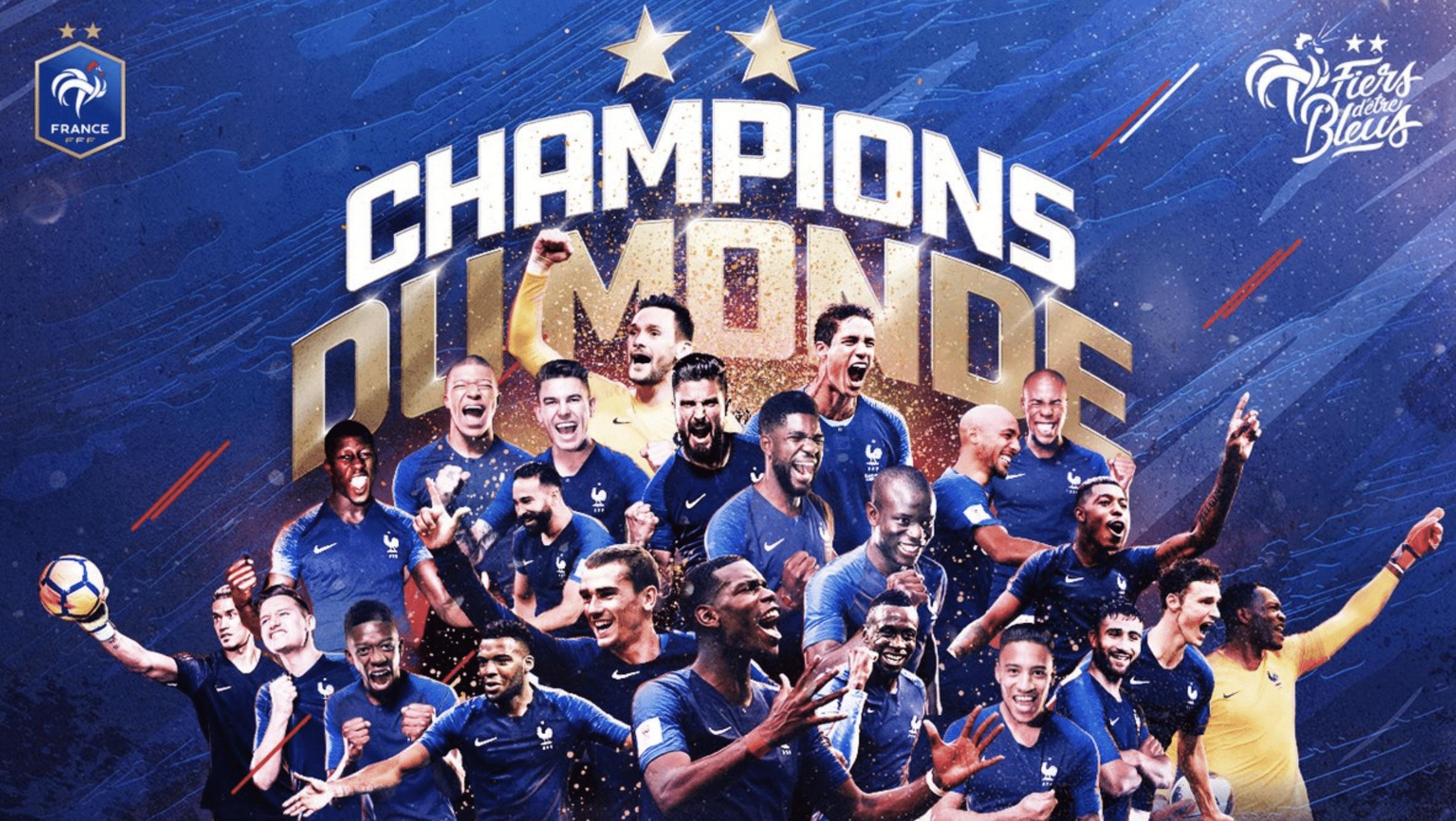 Rückennummern Frankreich WM 2018