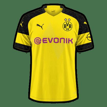 Bvb Dortmund Ruckennummer Trikotnummer Von Bvb Dortmund