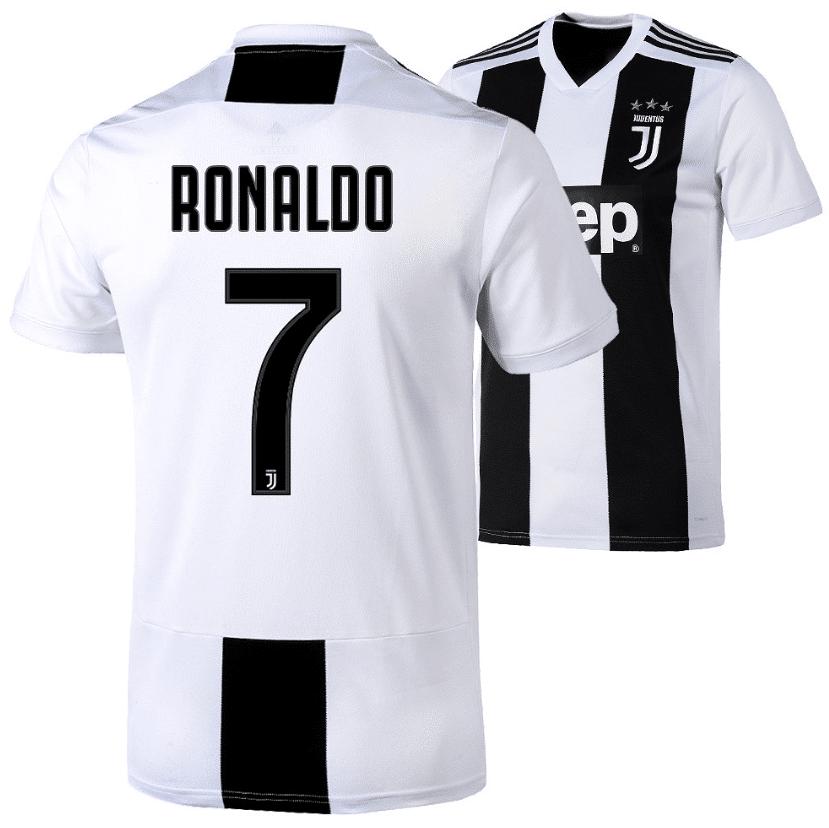 Das aktuelle Juventus Turin Heim Trikot 2019 von CR7 Christiano Ronaldo