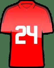 Rückennummer 24