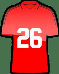 Die Trikotnummer 26