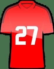 Die Trikotnummer 27