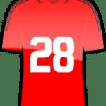 Rückennummer 28