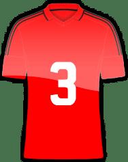 Rückennummer 3