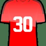 Rückennummer 30
