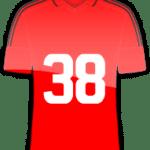 Rückennummer 38