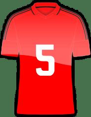 Rückennummer 5