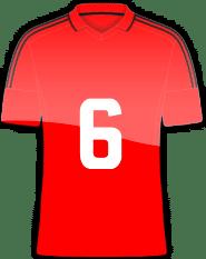 Rückennummer 6