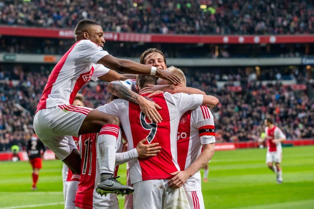 Ajax Amsterdam hat dieses Jahr allen Grund zum Feiern. Photo: Shutterstock.