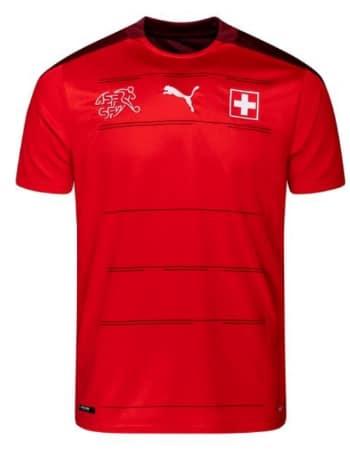 Schweiz Rückennummer bei der EM 2020