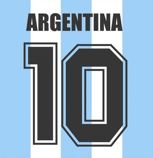Rückennummern Argentinien WM 2018