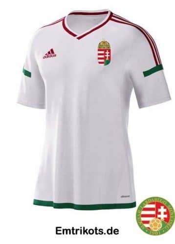Das EM 2016 Away Trikot von Ungarn.