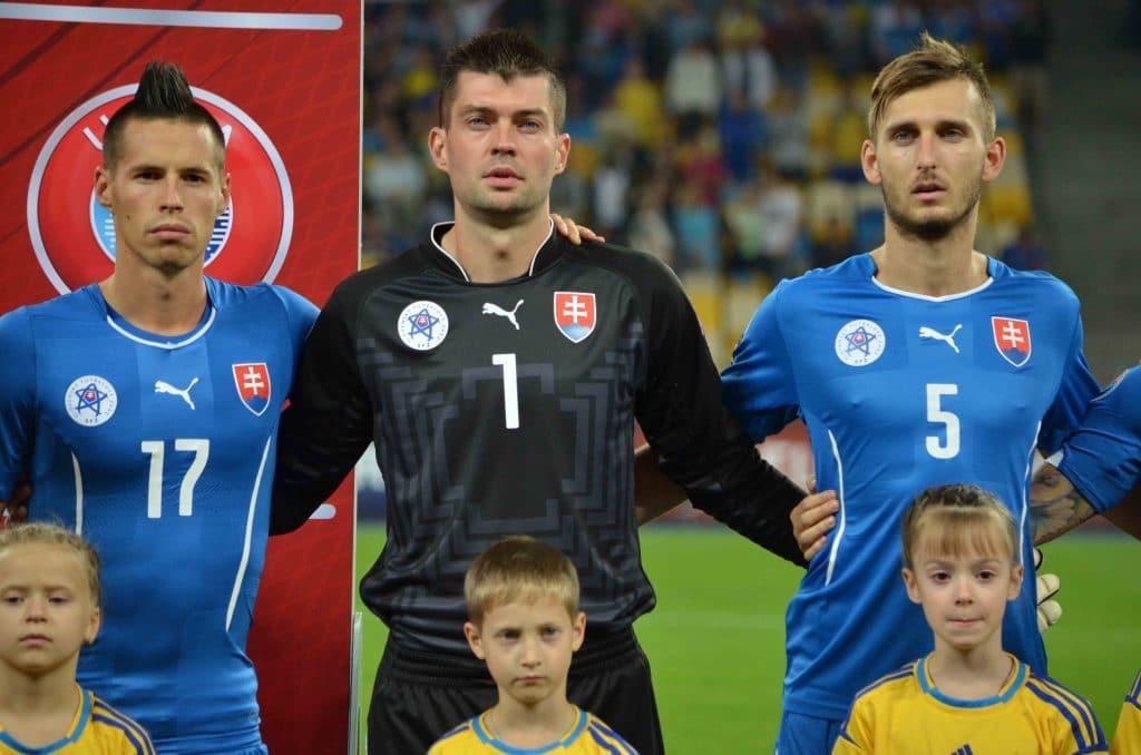 Slowakei EM Rückennummer bei der EM 2020