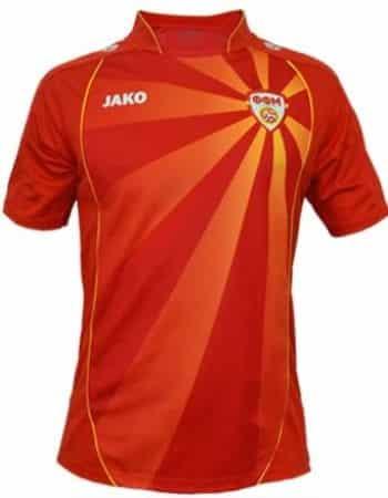 Nordmazedonien Rückennummer bei der EM 2020