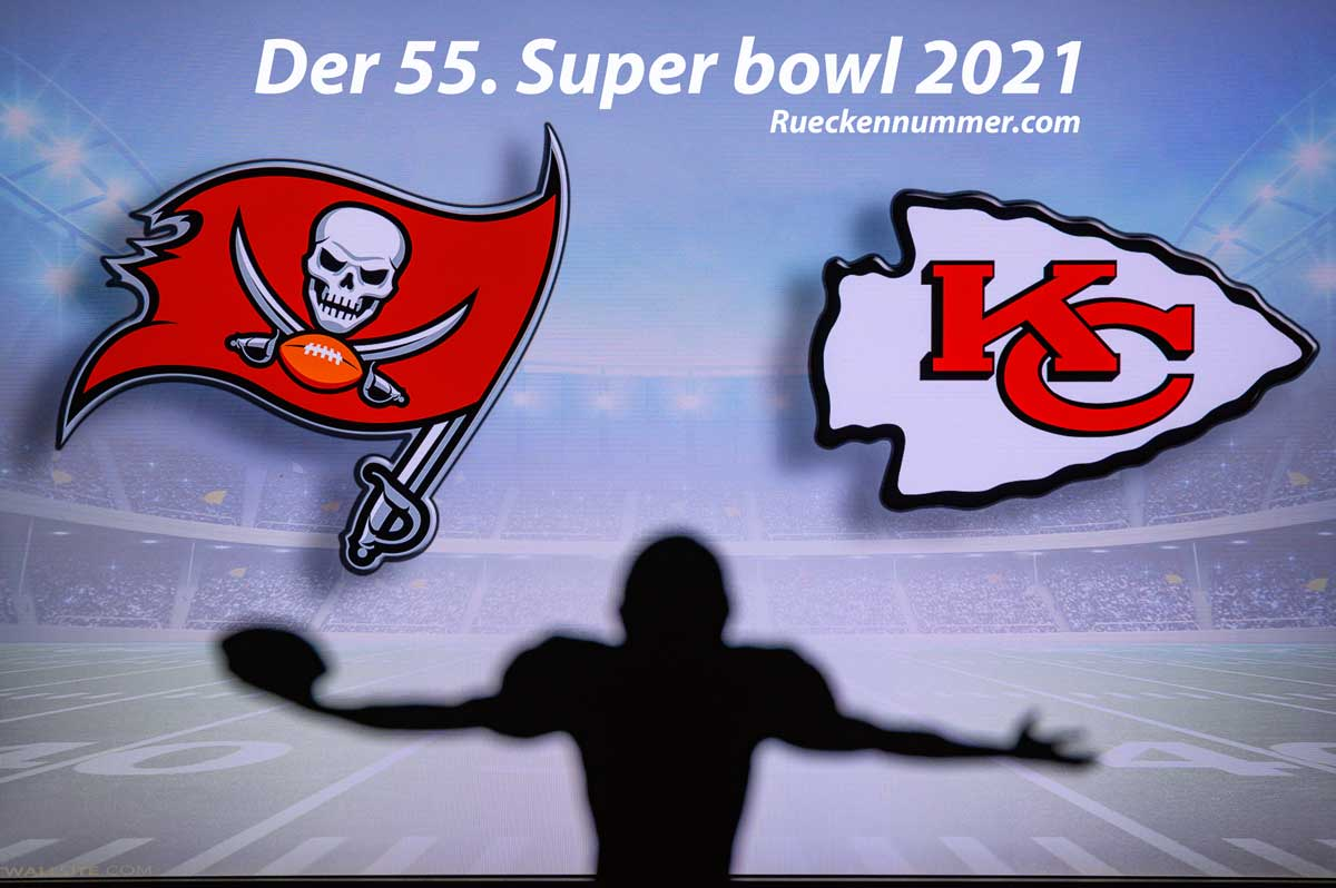 Super bowl 2021 🏈 im American Football - Trikots, Teams & Trikotnummern