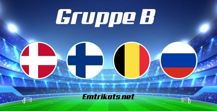 EM 2020 Gruppe B Tabelle & Spielplan