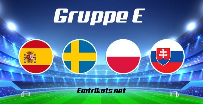 EM 2020 Gruppe E Tabelle & Spielplan