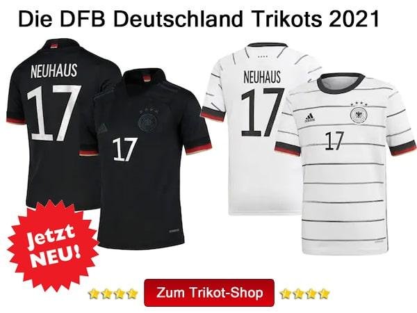 Florian Neuhaus DFB Trikot Nr. 17 kaufen!