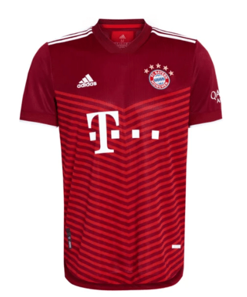Das aktuelle FC Bayern Heimtrikot 21/22